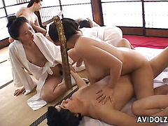 Japaneses with big boobs fucked uncensored japanese video
