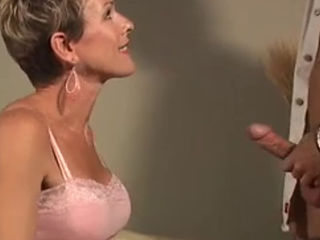 Skinny Mature Gets Picked Up And Fucked