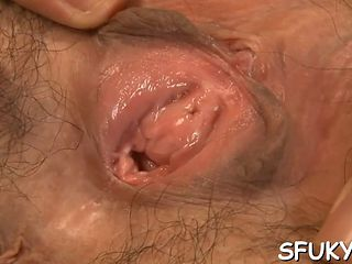 We Asian Pussy Takes Vibrating Dildo Video Clip 1