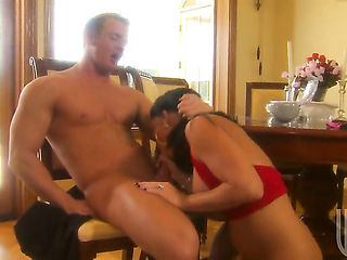 Fascinating cutie Kendra Secrets makes her sex fantasies a reality in cumshot action  : Pornalized.com erotic video