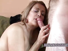 Latina Sandie is getting fucked in her hot twat