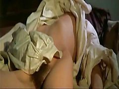 Anne Libert nude in various scenes,first she masturbates, her bush, breasts and ass are visible. Enjoy this completely nude scenes from The Demons.