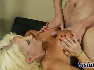 Stacked MILF Rides On A Massive Cock