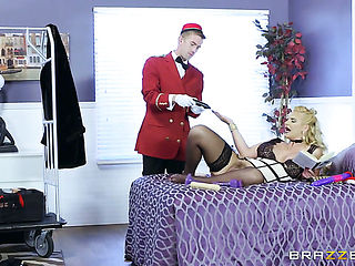 Danny D cant resist slutty Phoenix Maries attraction and drills her mouth like crazy