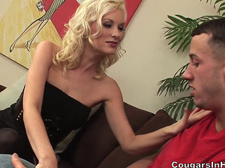 Cougar Wants The College Boy