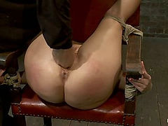 Girl next door takes brutal foot caning, devastating orgasms, a horrific throat fucking & anal abuse