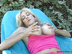 Fingering her pussy with their fingers