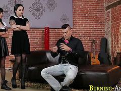 Emo slut gets anal fuck