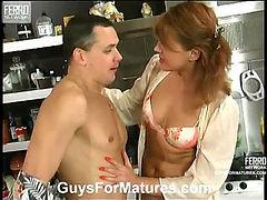 Bridget&Connor naughty mom on video
