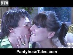 Madeleine&Rolf awesome pantyhose video