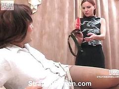 Marion&Hugo naughty strapon video