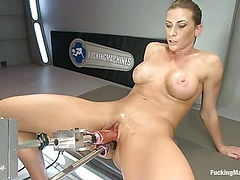 TRIPLE PENETRATION MUSCLE BABE: Ariel X Flexing Her Pussy Power