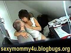 mum and husband caught fucking on hidden cam