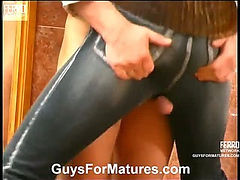 Penelope&Adrian red hot mature action