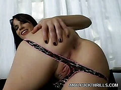 Hot Ass Dana Sizes up a Cock