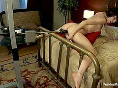 Veronica Avluv <br> part 2 of 5 The MILF squirts and squirts