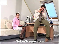 Marion&Adam mindblowing nylon video