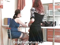 Judith&Marion pussyloving mature on video
