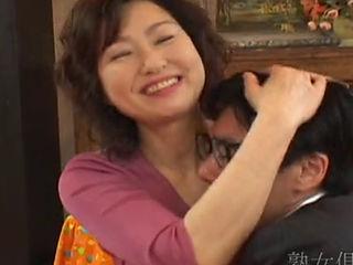 Japanese Mature Couple Fucking On Camera