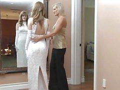 Faye Reagan goes lesbo on her wedding day