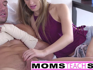Step Sister And Mom Share Brothers Hard Cock 674