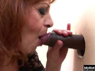 Going To The Gloryhole Has Always Been Something Samantha Enjoyed, And Now That