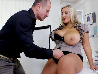 Krystal Swift Gets Her Big Tits Fucked Hard