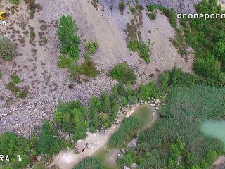Nude Beach Sex, Taken By A Drone In Ultra Hd
