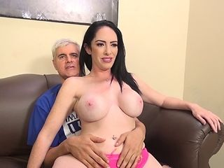 Bella Maree and her big fake tits are fantastic in a fuck video
