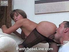 Dinah&Connor kinky pantyhose video