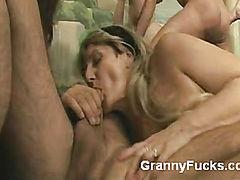 Horny Seniors Go All Out