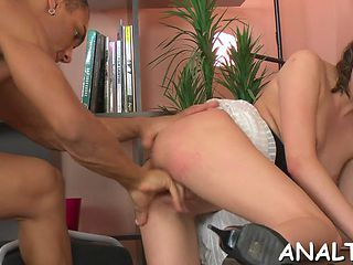 Amorous Anal Pounding Session Teen Feature 2