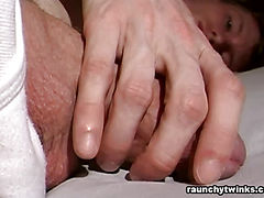 Ripped Hottie Solo Masturbation