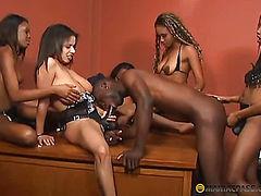 Belle fucks guy in his anal
