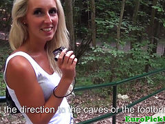 Real pulicsex slut creampied in public