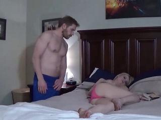 Big Tit Stepmom Cannot Control Her Stepson