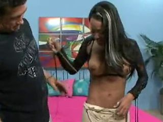 Hot Black Chick From Rock Of Love Fucks Billy Glide