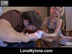 Madeleine&Mike awesome nylon action