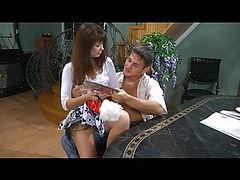 Jessica&Govard mindblowing nylon feet action