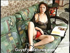 Lillian&Adrian raunchy mature action