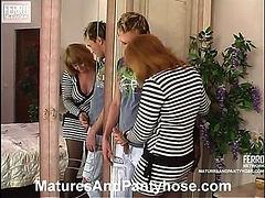 Viola&Rolf mature pantyhose movie