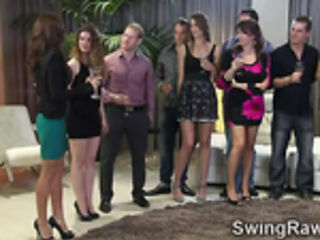 Bisexual swinger babes share bath in this XXX reality show