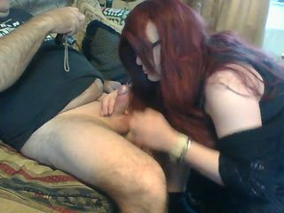 Naughty Nikki naughty blowjob x