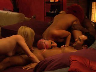 Amateur couple join the swingers for a weekend groupsex