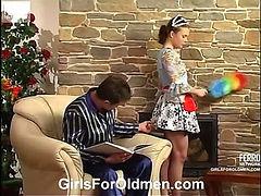 Alana&Sergio girl and oldman video