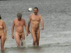 Voyeur video at the nude beach