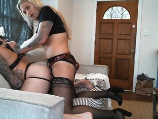 Mistress ebony fit spitroast