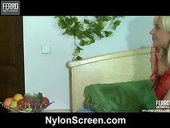 Connie&Nicholas frisky nylon action