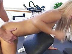 Gym fuck session