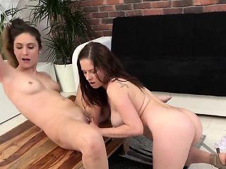 Innocent sweetie is geeting peed on and bursts wet vagina